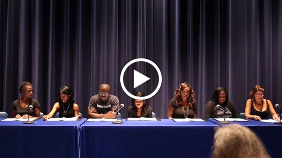 One Child Born - table read at 2016 DC Shorts Screenplay Competition