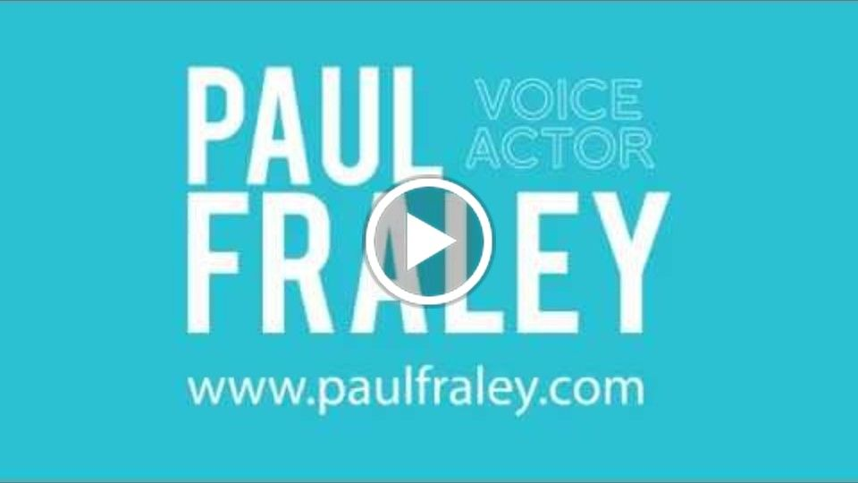 Hire Voice Over - Paul Fraley | Professional Voiceover