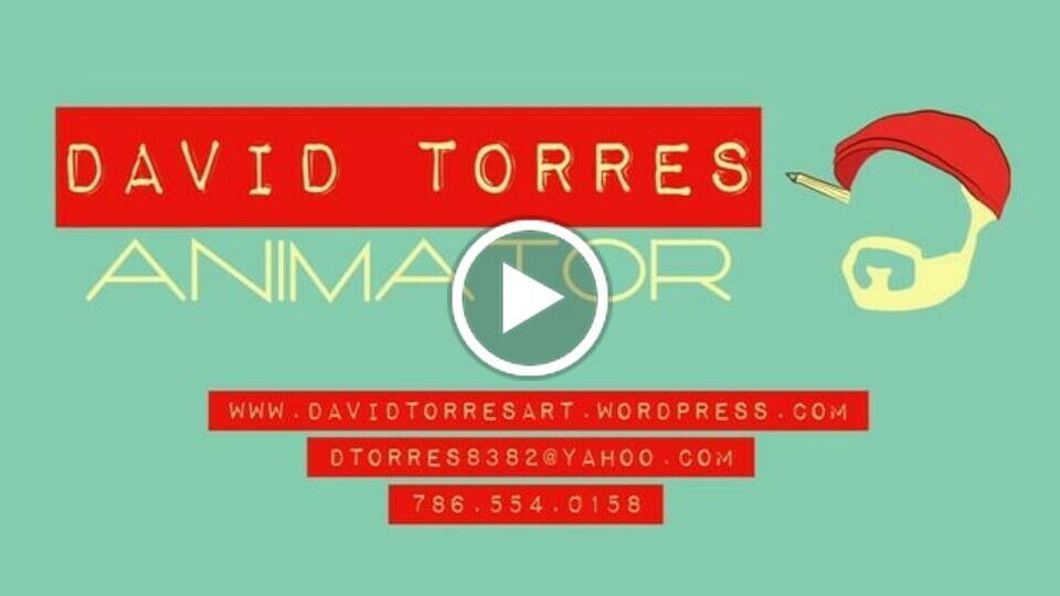 David Torres Animation Demo Reel 2013