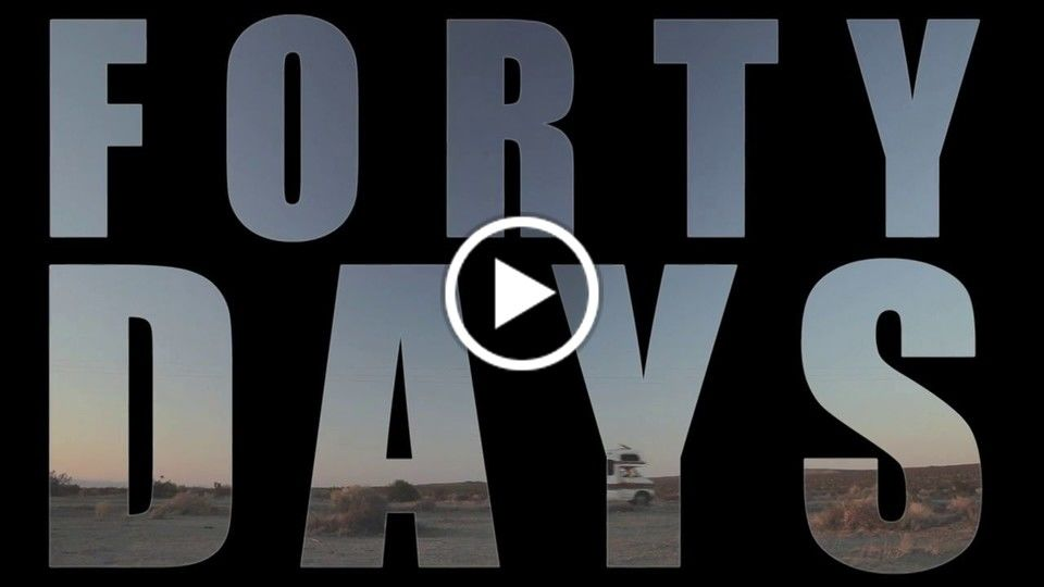 Forty Days Trailer - Extended Version