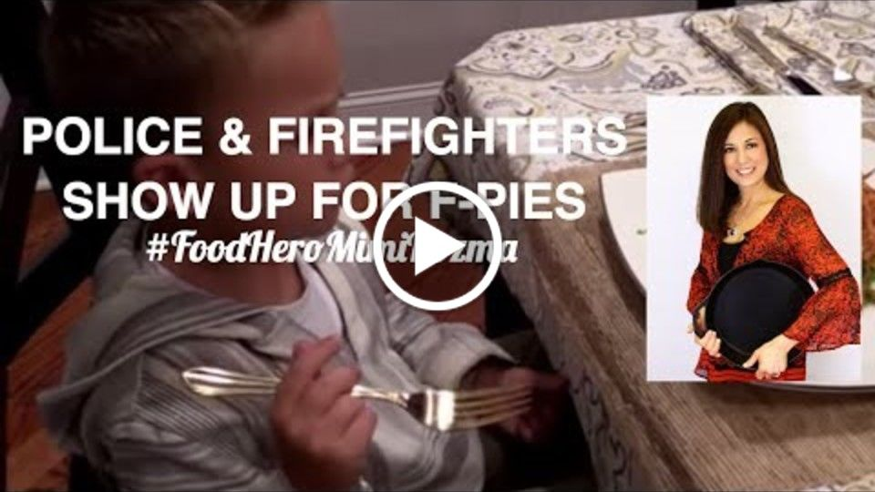 POLICE & FIREFIGHTERS SHOW UP FOR FPIES - FOOD HERO MIMI KOZMA - EPISODE 1