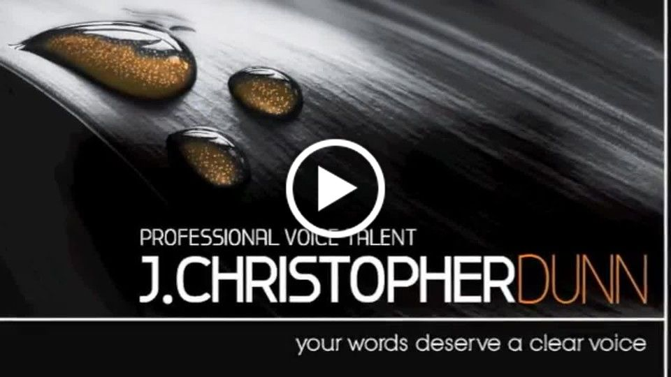 J. Christopher Dunn Voice Demo