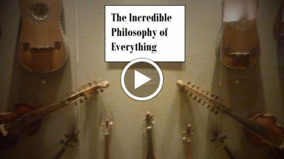 The Incredible Philosophy Of Everything by Massimo Primiero