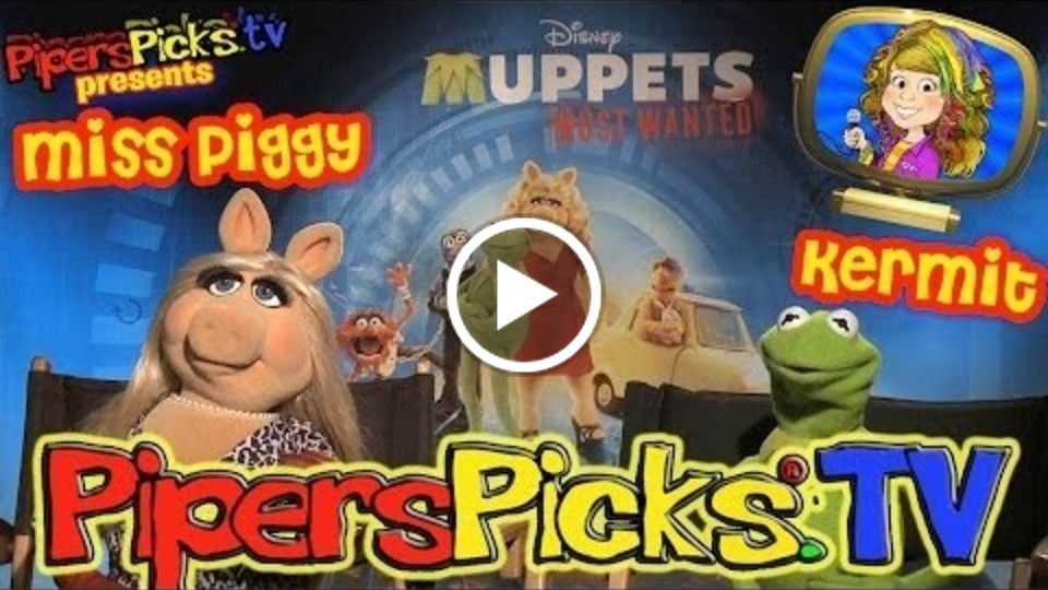 KERMIT and MISS PIGGY Meet PIPER + The SWEDISH CHEF!