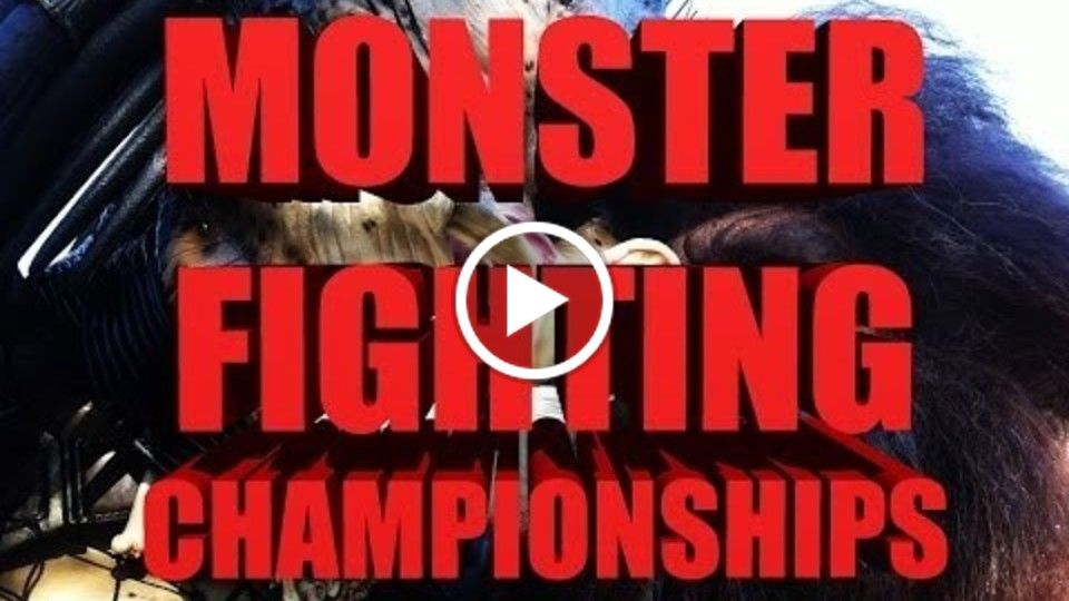 HALLOWEEN UFC HYPE VIDEO PARODY - MONSTER FIGHTING CHAMPIONSHIP 13
