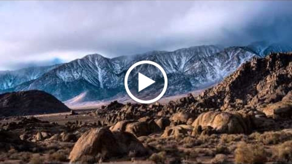 Time Lapse: Eastern Sierras & Inyo Mountains