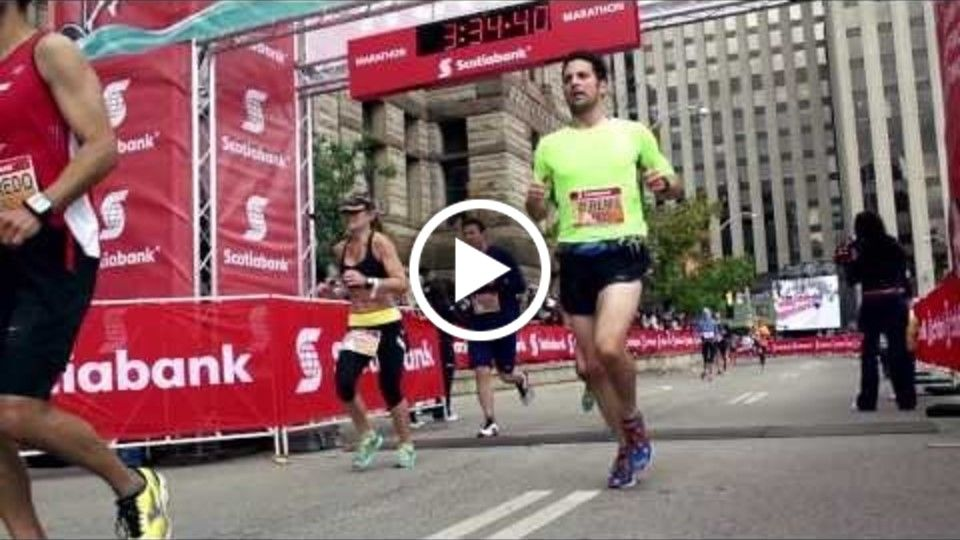 Toronto Scotiabank Waterfront Marathon 2013 - There's A Hero In All Of Us