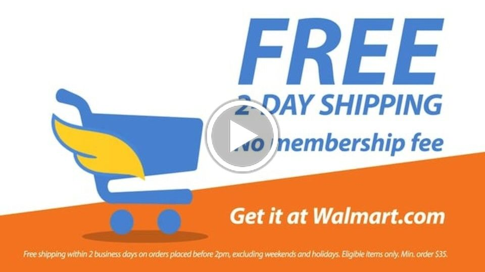 Walmart: Free Two Day Shipping