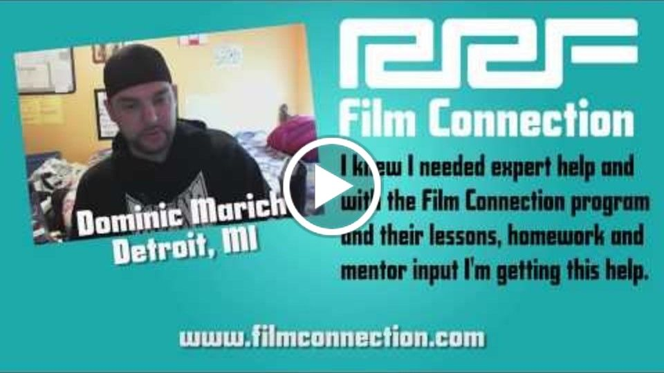Film Connection Mentors Teach You One-On-One