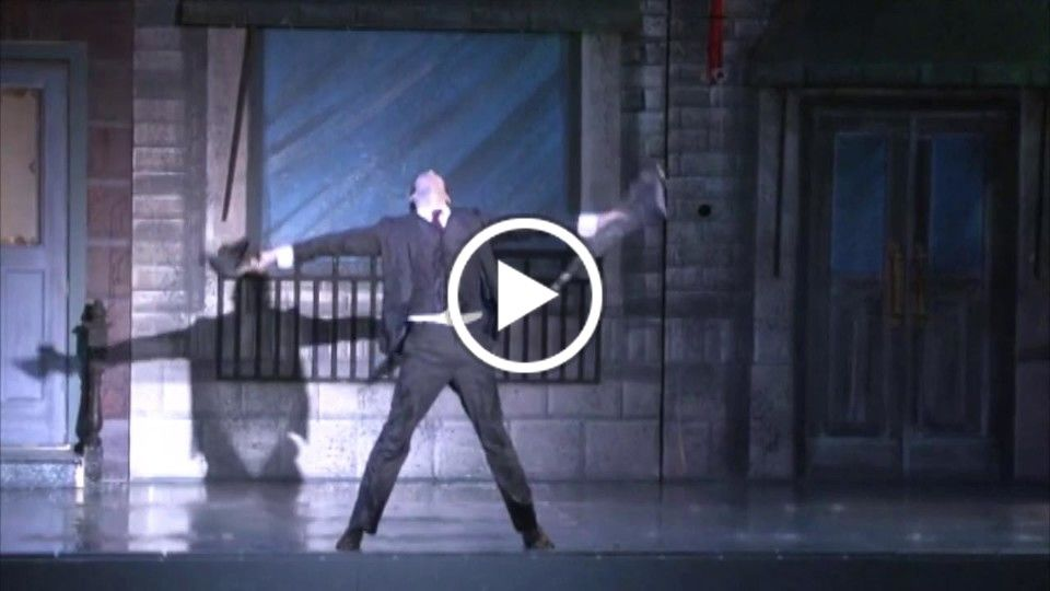 Singin' in the Rain: Directed by Greg Zane and Choreographed by Jim Cooney