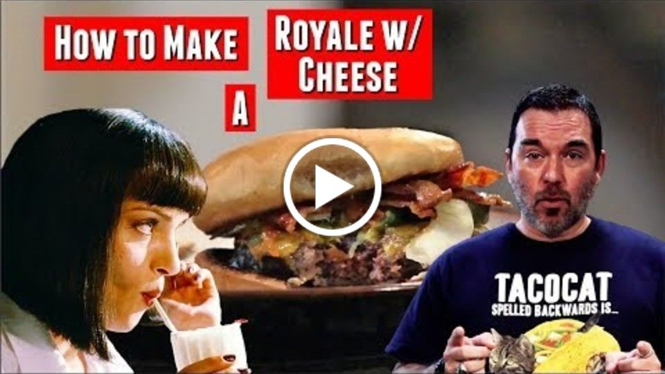 Movie Night S1E1: Pulp Fiction || How to Make a Royale w/Cheese & Crispy Skinny Fries