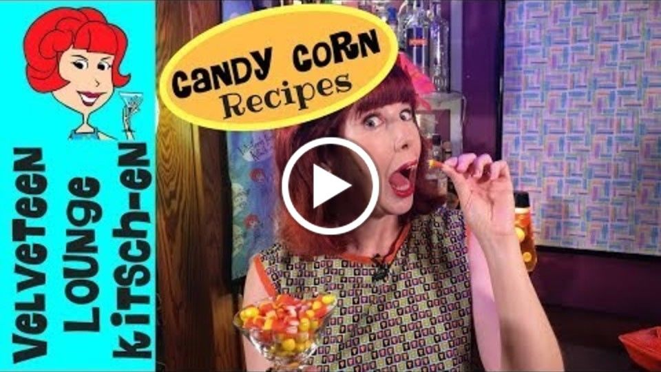 DIY Cocktail & Appetizer Recipes with Candy Corn