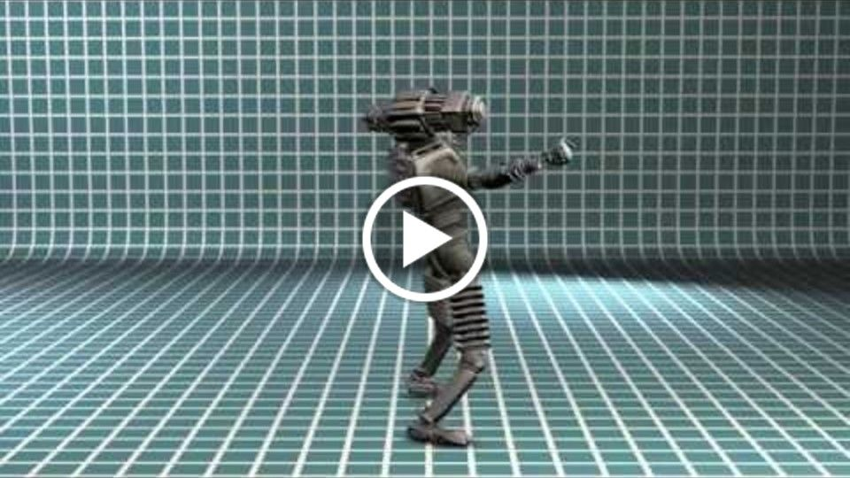 CGI ROBOT CHARACTER ANIMATION TEST Multimedia Project 2015