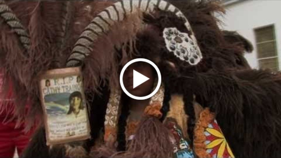 Flags Feathers and Lies Documentary, Mardi Gras Indian, New Orleans, Trailer 2010
