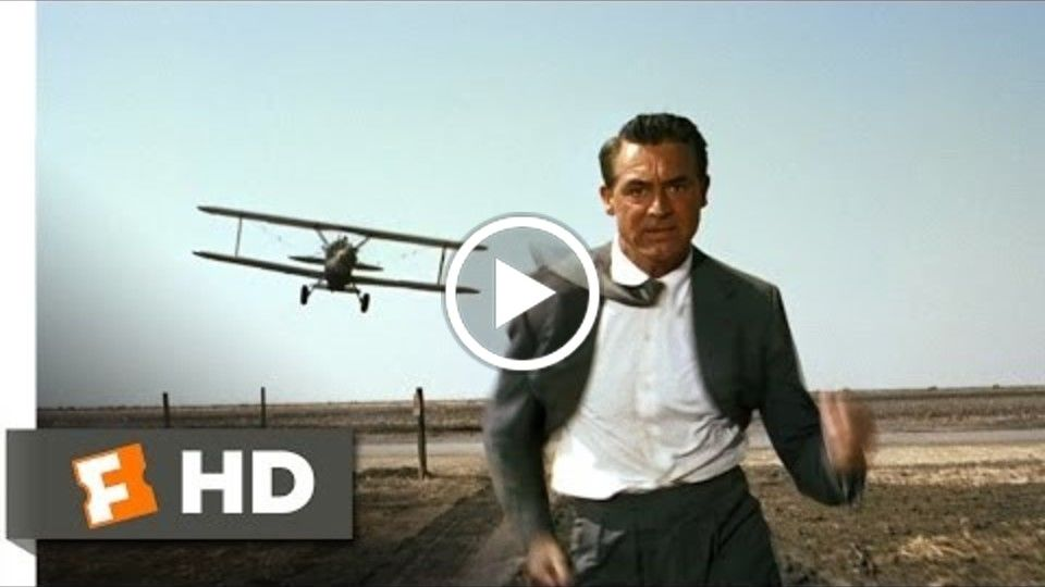 North by Northwest (3/9) Movie CLIP - The Crop Duster (1959) HD