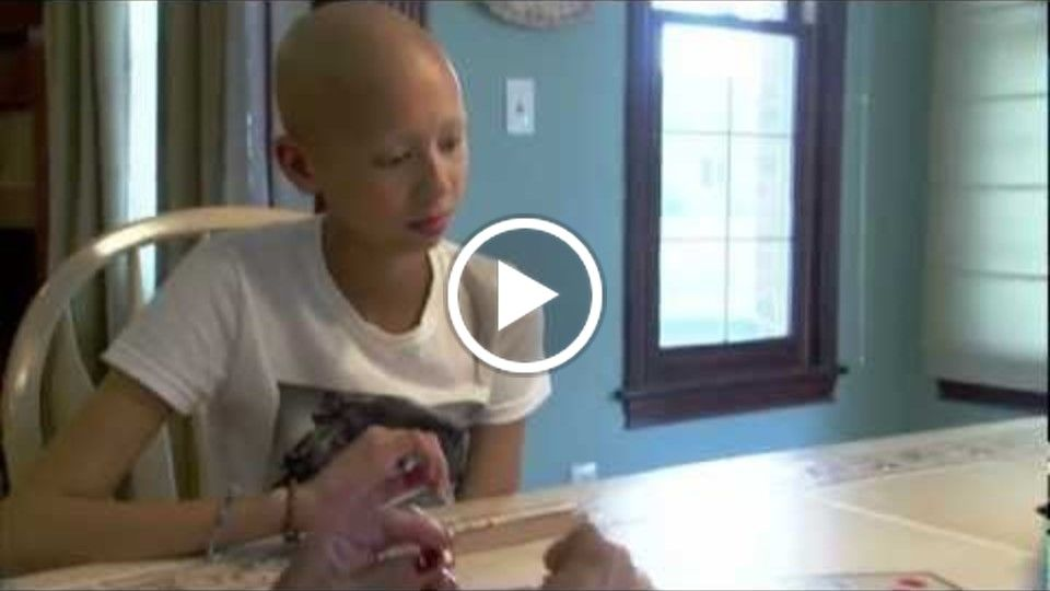 Riley kid Maddy Justice talks about her experience at Riley Hospital for Children