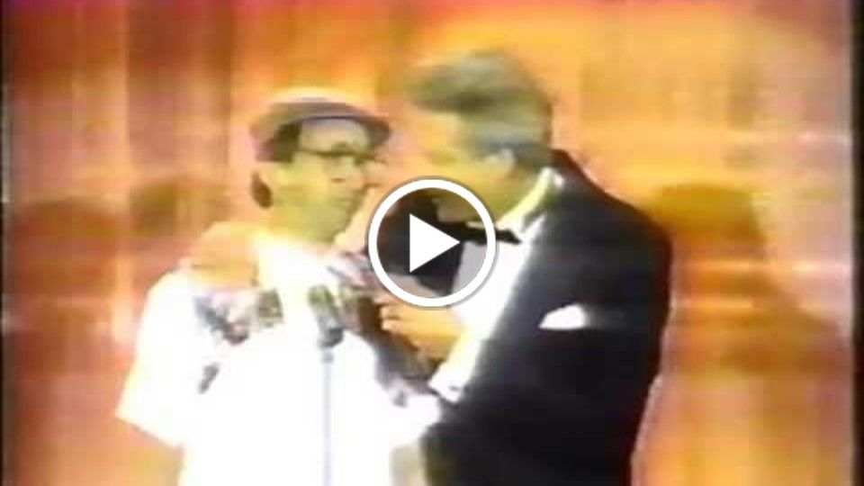 Shannon Ratigan as Jersey Jim on The Gong Show & vintage commercial