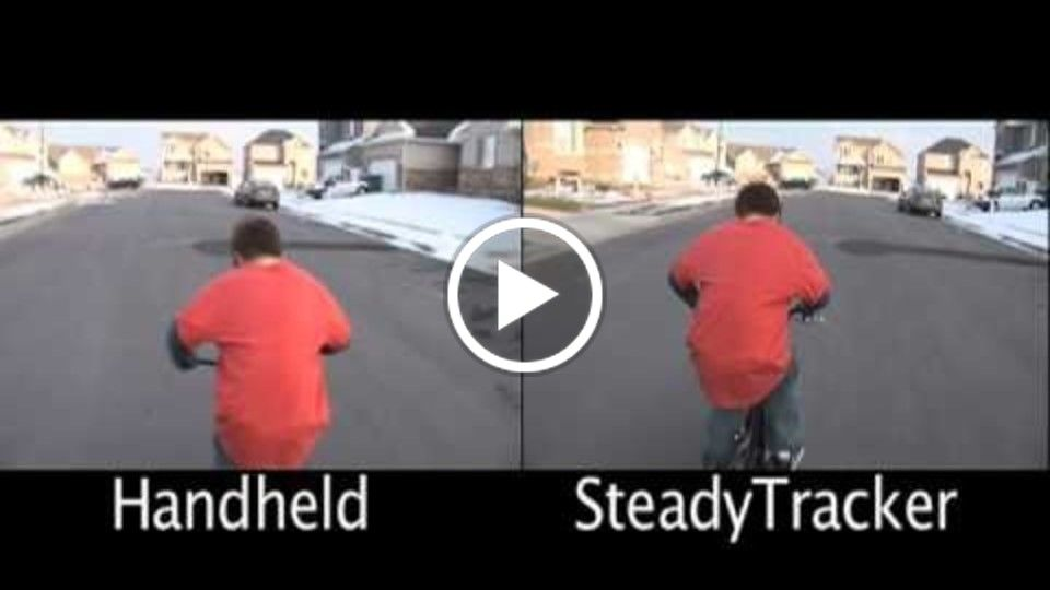 SteadyTracker Comparison Shot