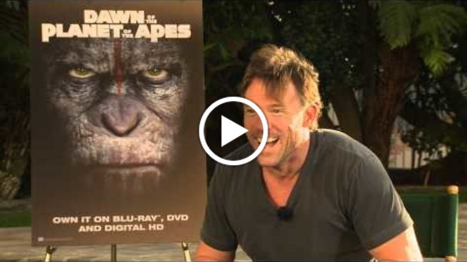 "Terry Notary ""Dawn of the Planet of the Apes"" Interview"