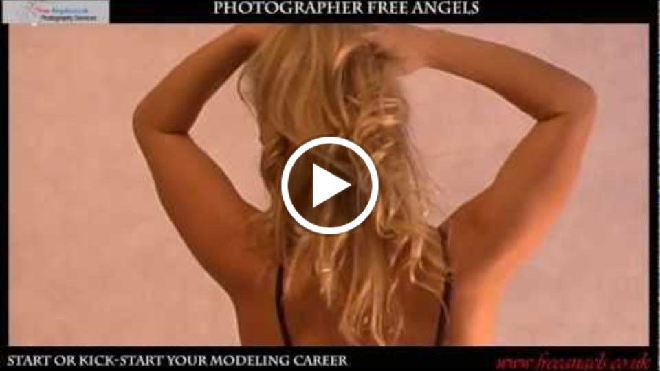 Professional Model Elise's Photo Shoots and Video Recording by Photographer Free Angels
