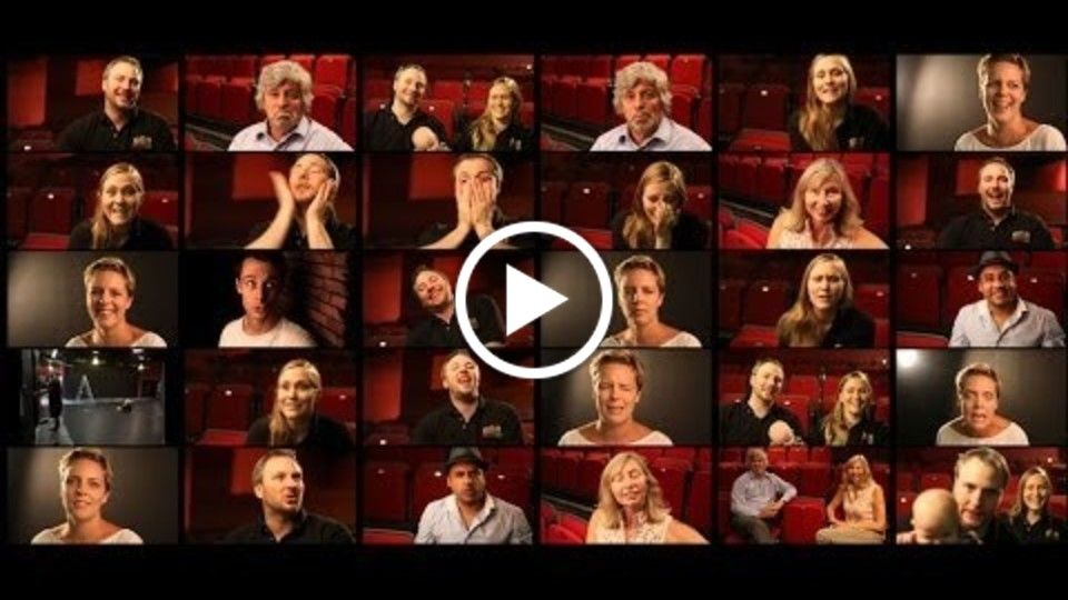 Outtakes video for The Courtyard Playhouse Crowd Funding Campaign