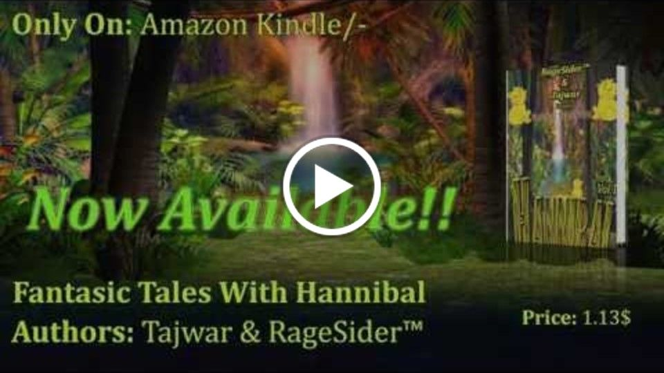 Fantasic Tales With Hannibal- [book Trailer]