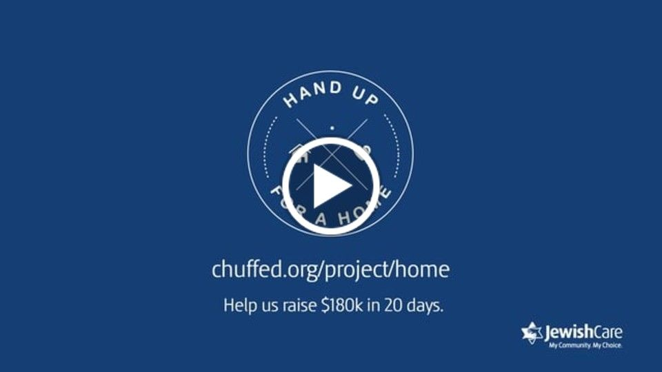 Jewish Care - Hand Up For A Home