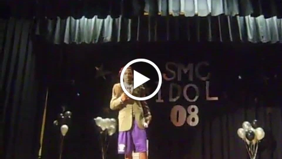Hosting the talent show smc.mp4