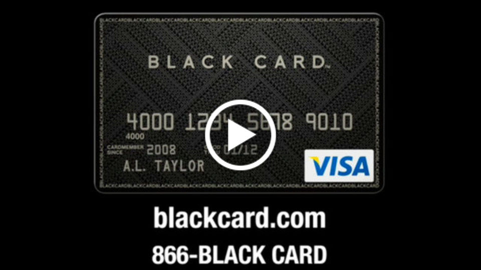 Visa Black Card #1