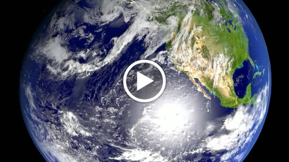 CGI Earth Orbit