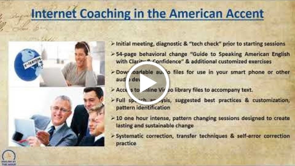 Learn American Accent with English by the Hour