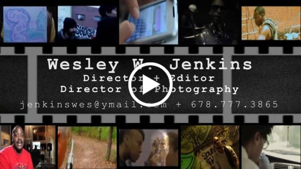 Wes Jenkins Director's Reel 2014