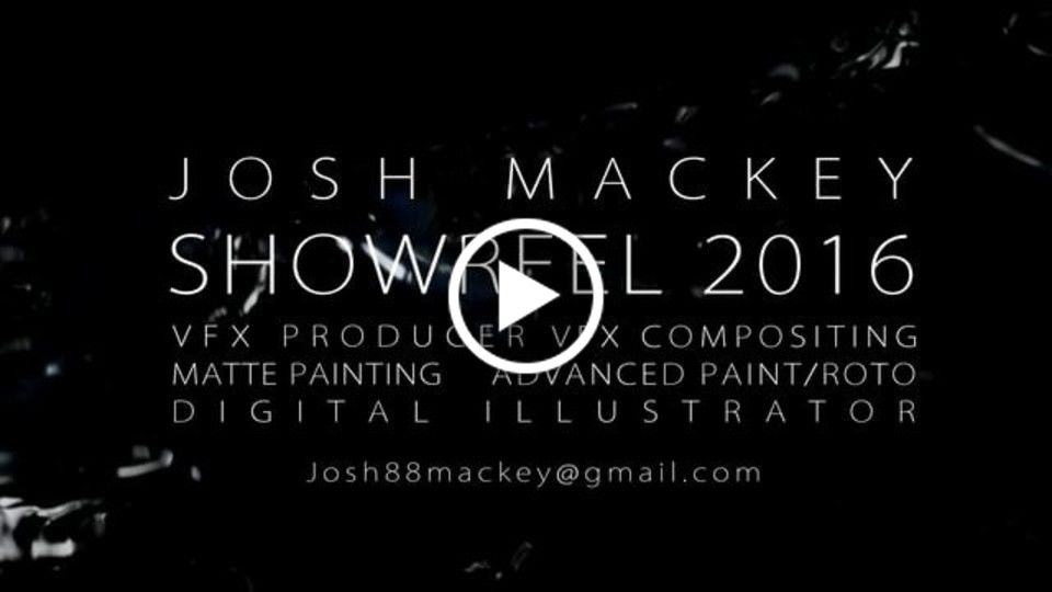 Josh Mackey showreel 2016 v03