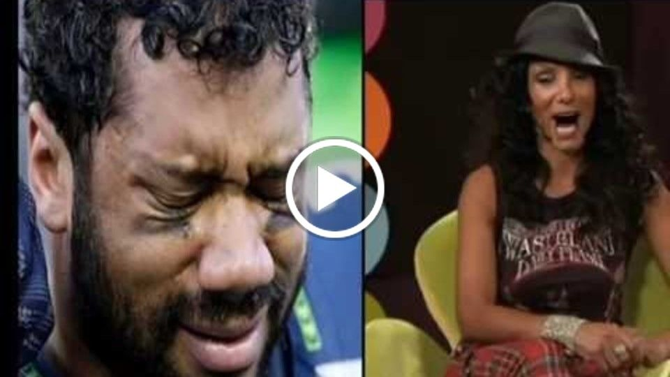 Russell Wilson loses it in interview! Kush Hour TV News Exclusive