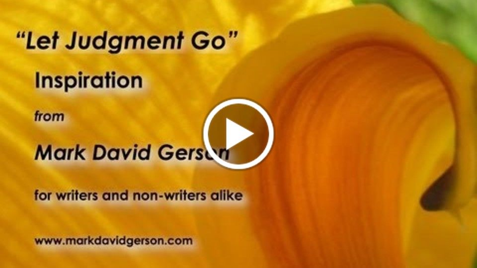 """Let Judgment Go"" - An example of my voice work...as well as an inspiring meditative experience for all creative artists"