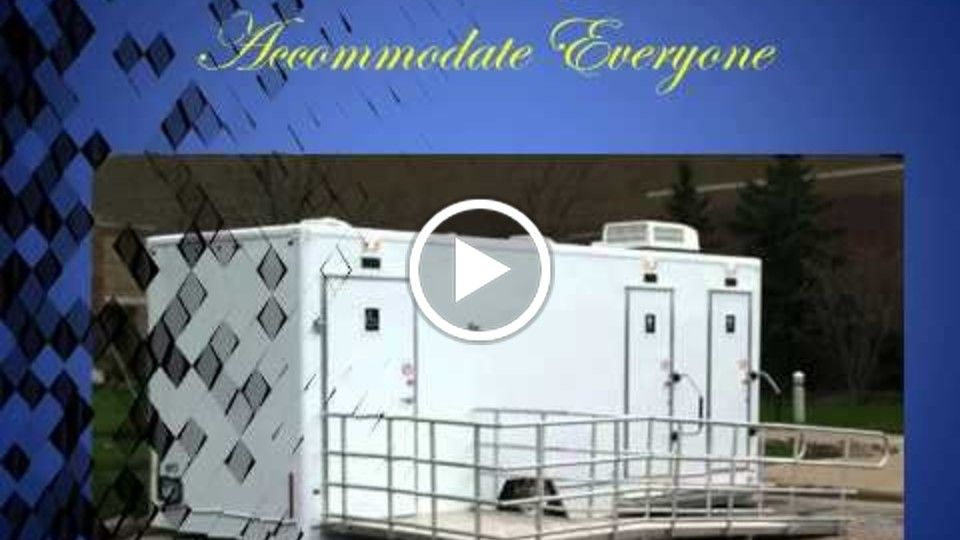 Restroom Trailers for Movie Projects, Music Videos, Outdoor Fund Raisers, Weddings & Receptions