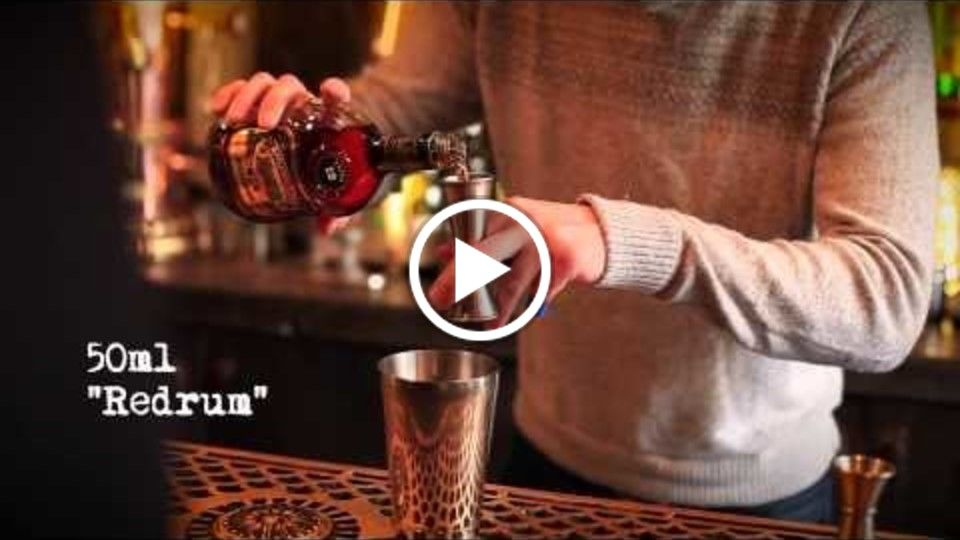 Literary Drinks Video No.2: The Shining (Gin)