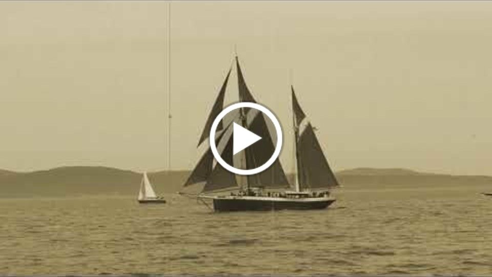 The Great Schooner Race Silent Film