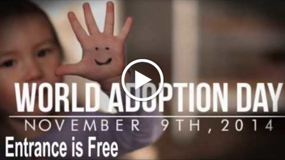 #WorldAdoptionDay Promo