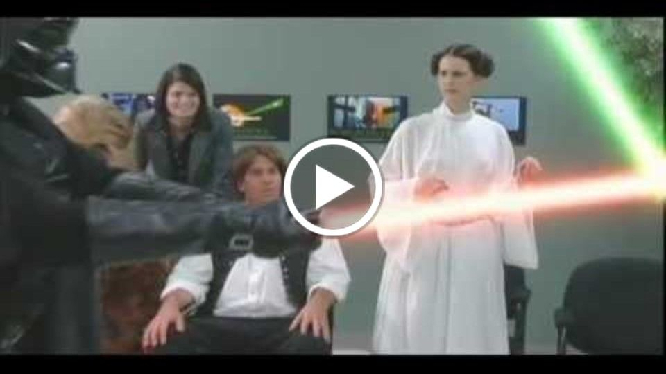 Star Wars:  Blasted Behavior (spoof)