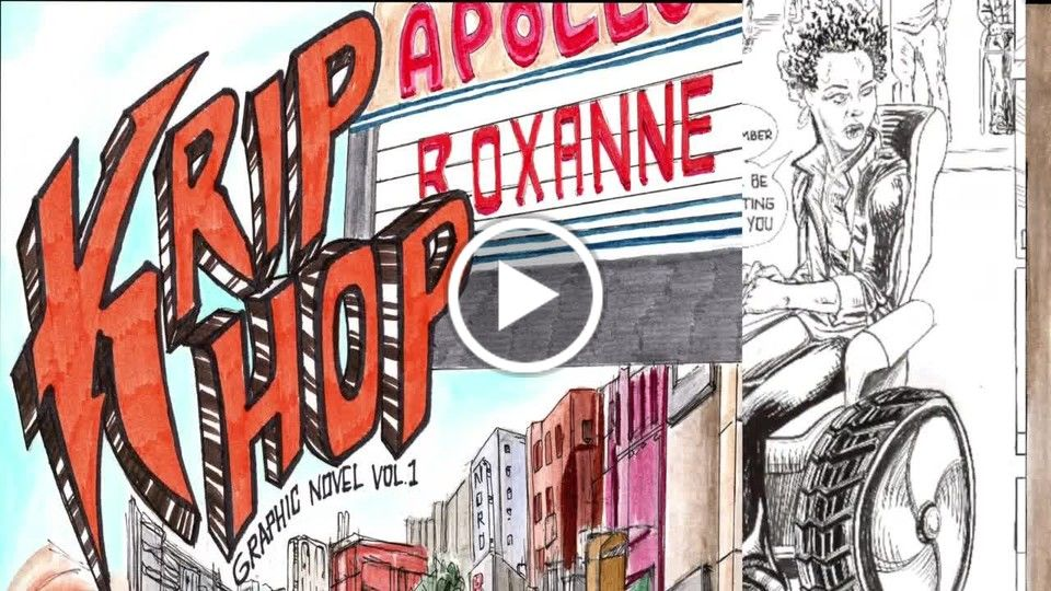 Graphic Novel Comic Krip Hop about disabled artists