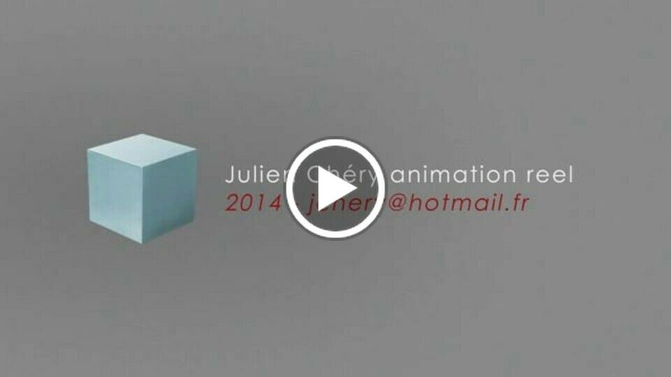 Julien Chéry - Animation reel 2014