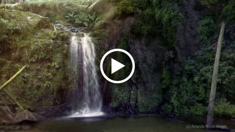 VFX Waterfall Compositing
