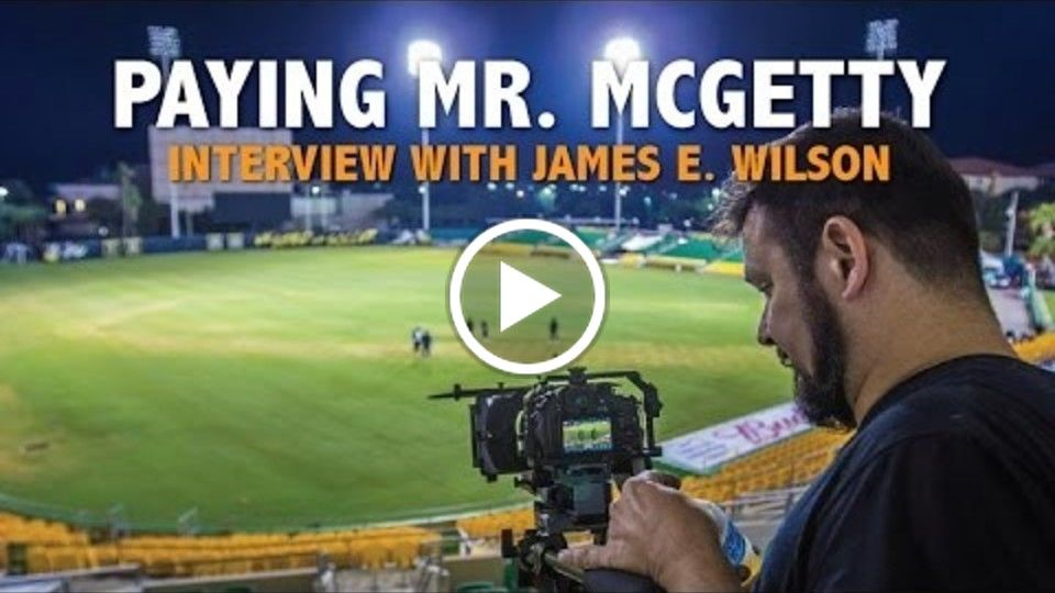 "James E  Wilson talks ""Paying Mr. McGetty"" and Filming in St. Pete / Clearwater"