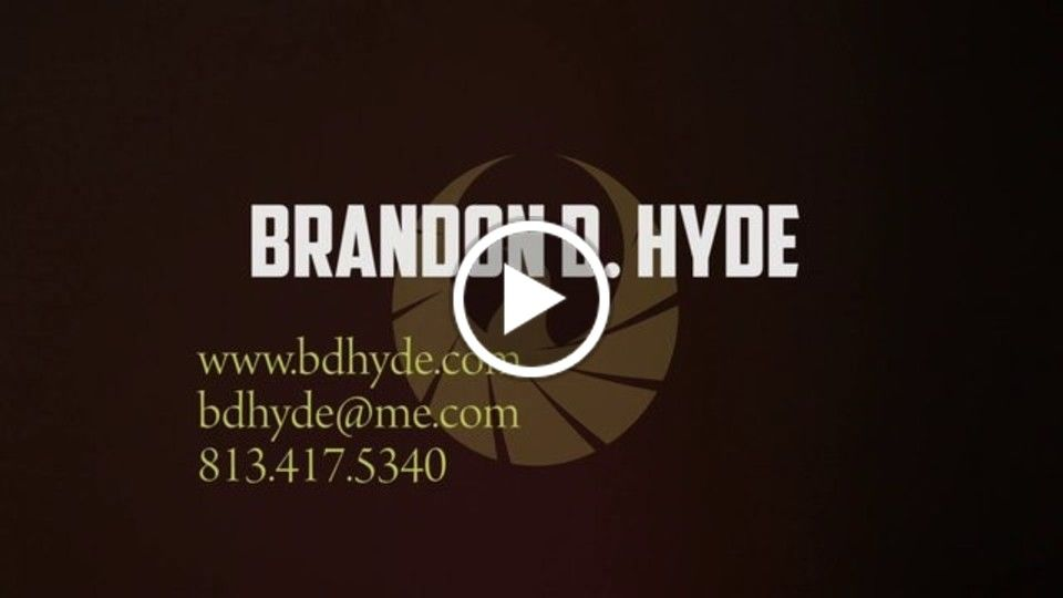 Brandon D. Hyde // Director of Photography // 2013 Demo Reel