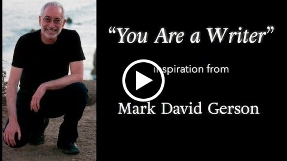"""You Are a Writer"" - An example of my voice work...as well as an inspiring meditative experience designed to reaffirm your innate creativity, writing ability and identity as a writer"
