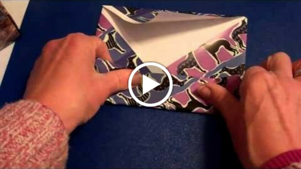 How to make origami gift boxes