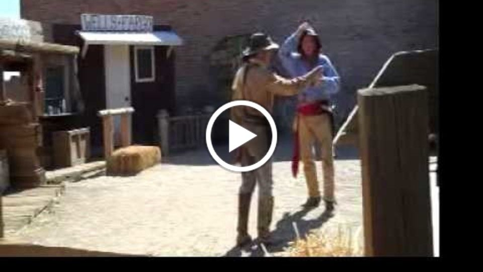 Virginia City Outlaw Comedy Wild West Gunfight Show