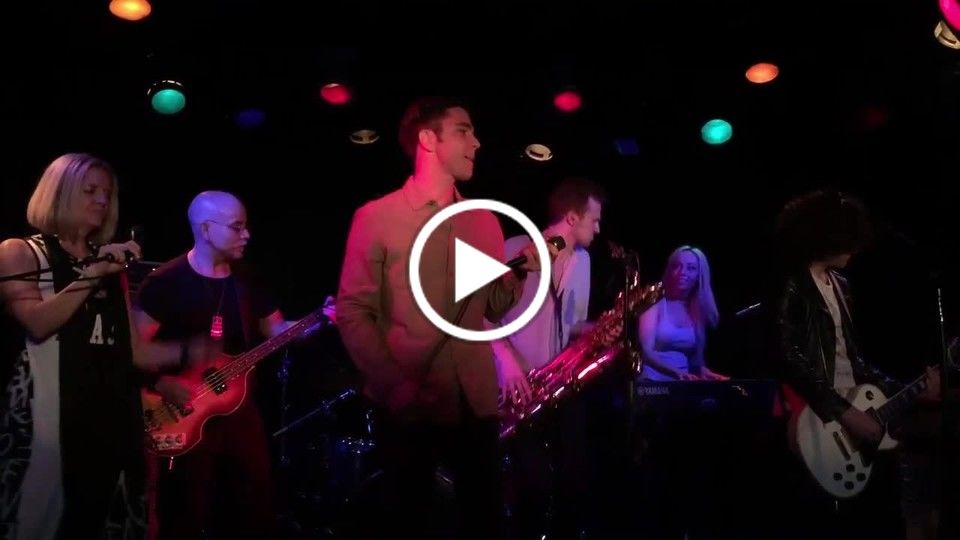 "BlasiniBand LIVE at Viper Room for The Sunset Jam - Peter Gabriel's ""Sledgehammer"""