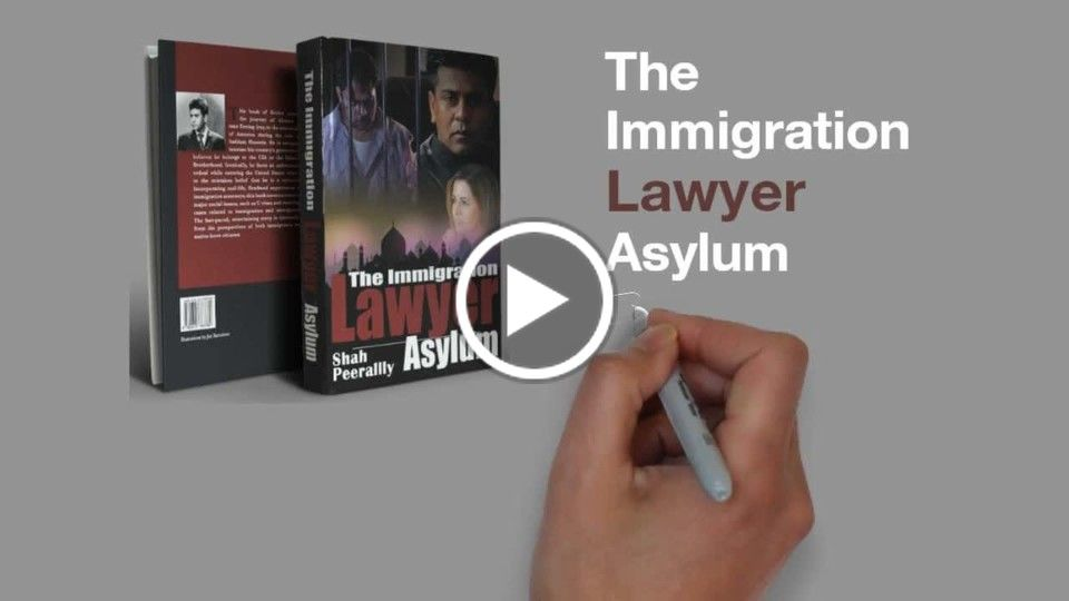 The Book The Immigration Lawyer Asylum - now on Paperback, EBook and Audio